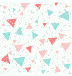 Colorful abstract pattern with pink red and blue vector