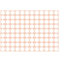 orange colored background vector image