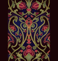 Rich floral pattern vector