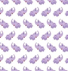 seamless elephant bapattern background vector image
