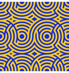 Two-color spiral patterns Seamless pattern vector