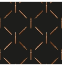 Rifle Bullets pattern background vector image vector image