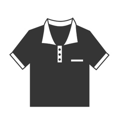 Polo tshirt wear vector image