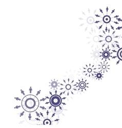 Abstract human interaction vector image