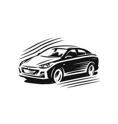 Car logo transport vehicle symbol vector