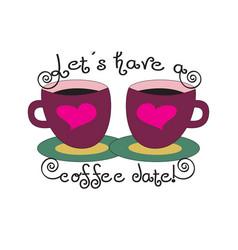 dating cafe symbol