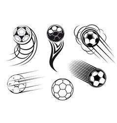 Football mascots vector