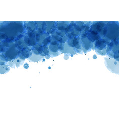 imitation of watercolor stains vector image
