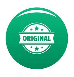 Original logo simple style vector