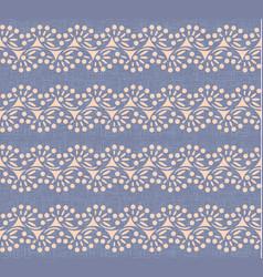 swirl lines polka dot canvas seamless pattern vector image vector image
