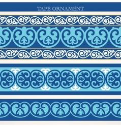 Tape ornament vector