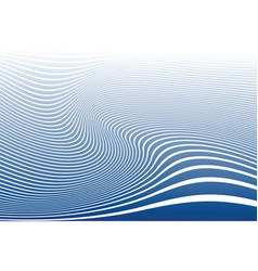 wavy lines design vector image