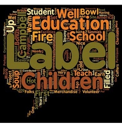 Do We Need Labels text background wordcloud vector