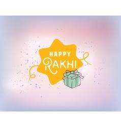 Happy Raksha Bandha vector