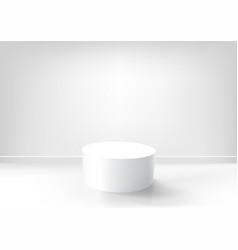 pedestal vector image