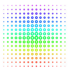 quality shape halftone spectral grid vector image