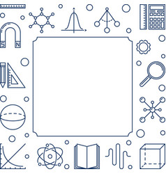 science technology engineering and math vector image