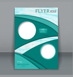 vertical business flyer for design vector image vector image