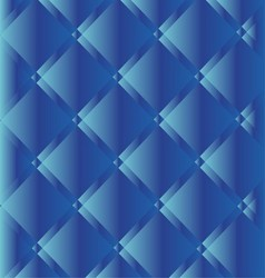 Blue Button Tufted Leather Background vector image