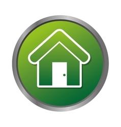 House real estate emblem vector