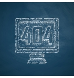 404 error program error icon vector