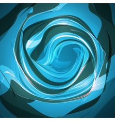 Abstract waving background vector image