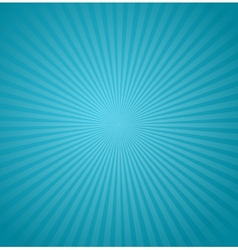 Blue rays background Burst vector image