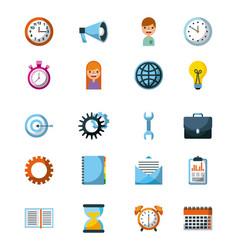 Business icon concept management work progress vector