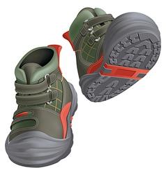 Children boots vector