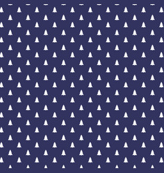 christmas tree poster vector image