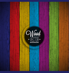color painted wood texture background vector image