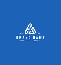 Letter es logo design vector
