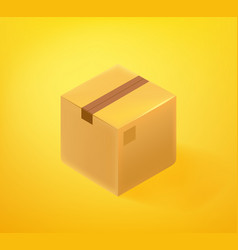 mailing box icon 3d comic style editable vector image