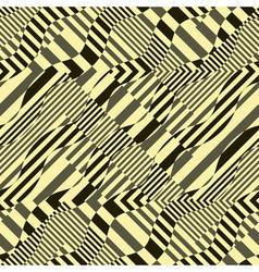 Ornate striped background vector
