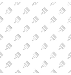 Paint brush pattern seamless vector image