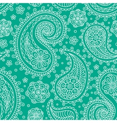 Sampless pattern green vector image