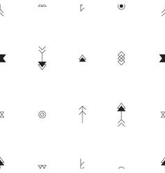 Seamless pattern aztek pattern Universal vector