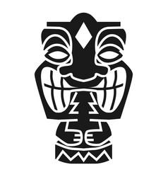Tahiti idol icon simple style vector