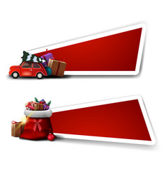 templates for christmas discount red vector image