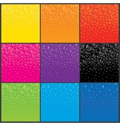 Color Bubbles Backgrounds vector image vector image