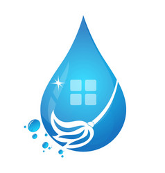 house clean vector image