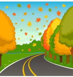 country landscape vector image