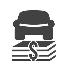 Auto Financing vector image