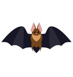 Bat flat vector