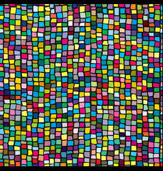 Colorful ceramic mosaic seamless vector