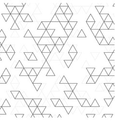 pattern triangles vector image