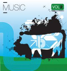 the cow vector image