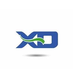 XD logo vector image