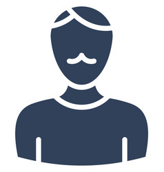 Young man icon which can easily modify or vector