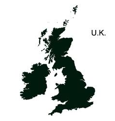 Great Britain Pictogram vector image vector image